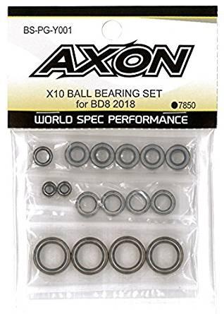 AXON X10 BALL BEARING SET for YOKOMO BD8 2018 BS-PG-Y001の商品画像|ナビ