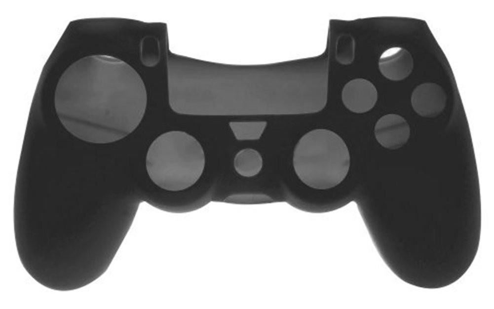 アローン PS4コントローラー用 シリコンカバー ブラックの商品画像 ナビ