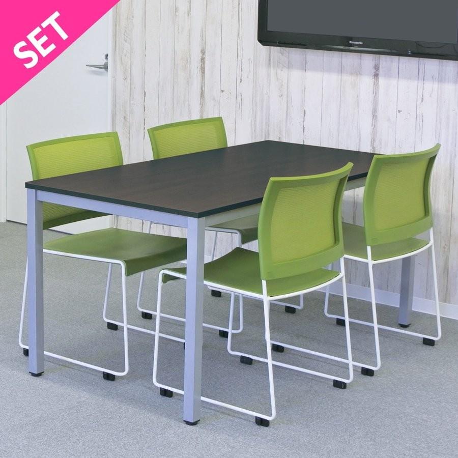 ミーティングテーブル RFMT-1575W (ホワイト)の商品画像 2