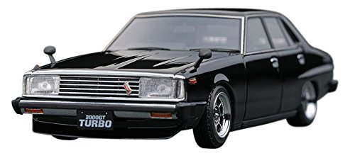 Nissan Skyline 2000 GT-EL (C211) Black ※Hayashi Wheel (1/43スケール IG0324)の商品画像|ナビ