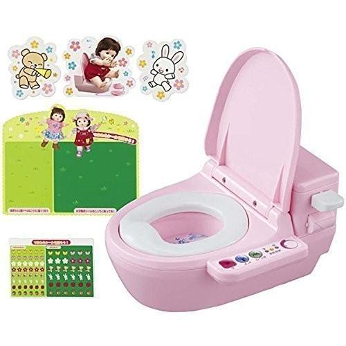 ピープル ぽぽちゃん・ちいぽぽちゃんの おしゃべりトイレ トイレデコセットつきの商品画像 ナビ