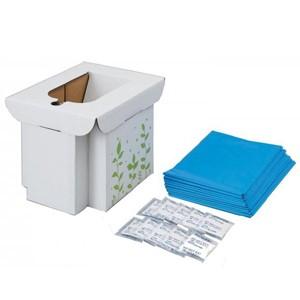 緊急用組み立て式トイレ 10回分 簡易トイレ 非常用トイレ 防災グッズ アウトドアグッズ コジット