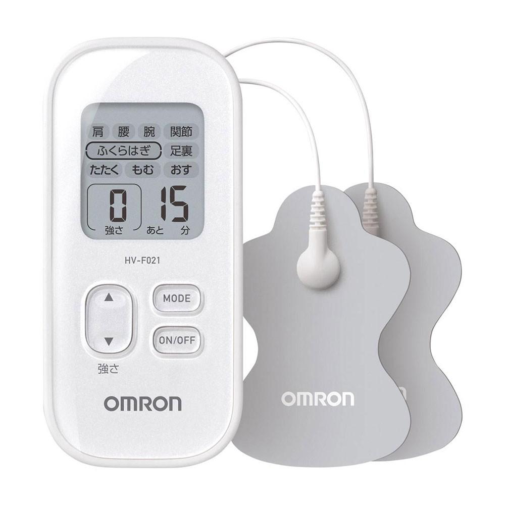 オムロン 低周波治療器 HV-F021-W(ホワイト)の商品画像|2