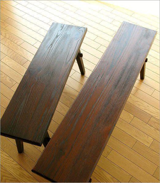 ベンチ 木製 90(1)