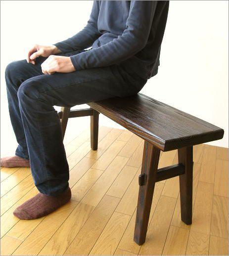 ベンチ 木製 90(2)