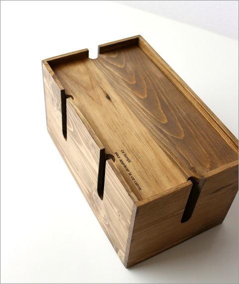 ウッドケーブルボックス S(3)