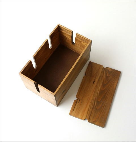 ウッドケーブルボックス S(4)