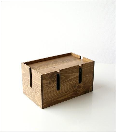 ウッドケーブルボックス S(5)