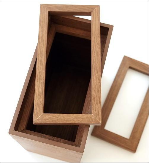 木のダストボックス(3)