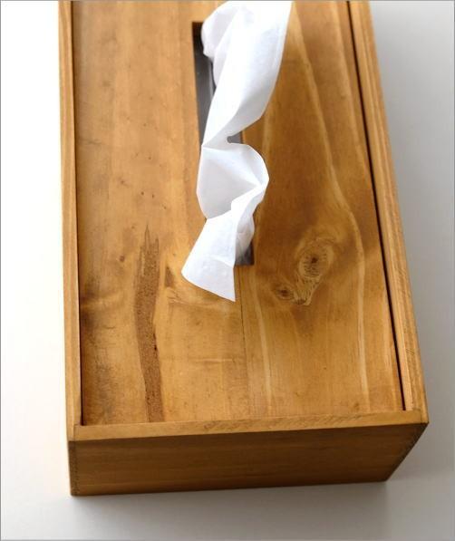 ティッシュボックス パイン(4)