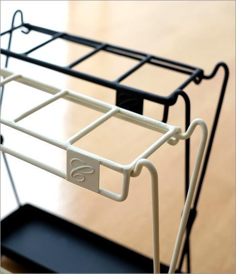 アイアン折り畳み傘立て 2カラー(2)