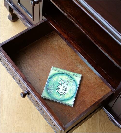 テレビ台 アジアン家具 アンティークなローボード(5)