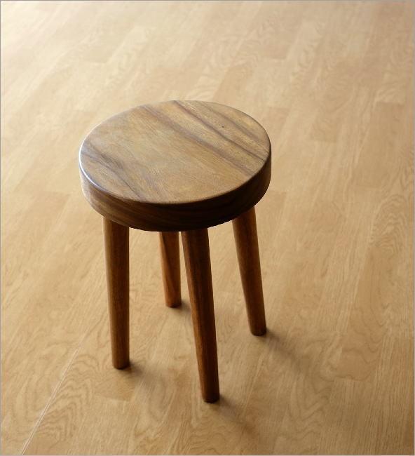 木製スツール ウッドスツール サークル(2)