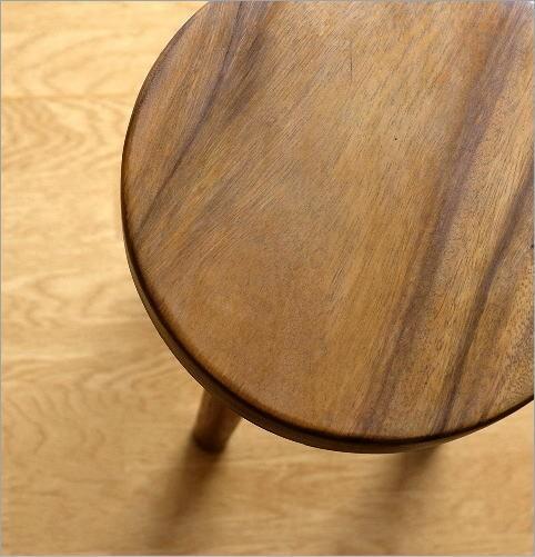 木製スツール ウッドスツール サークル(4)