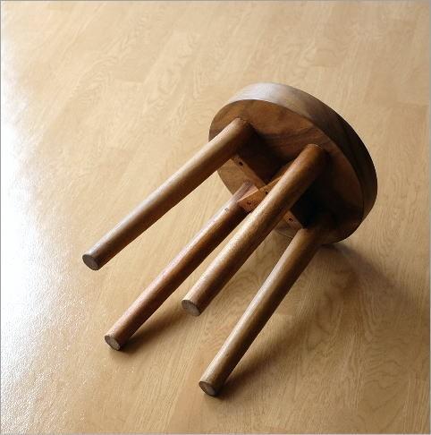 木製スツール ウッドスツール サークル(5)