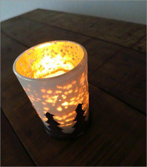 モミの木のキャンドルカップ 2タイプ(1)