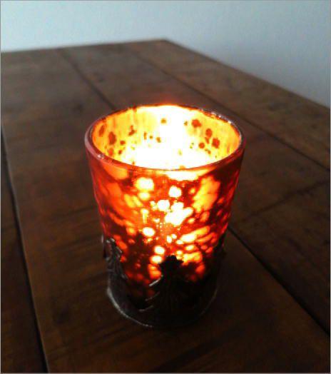 モミの木のキャンドルカップ 2タイプ(2)