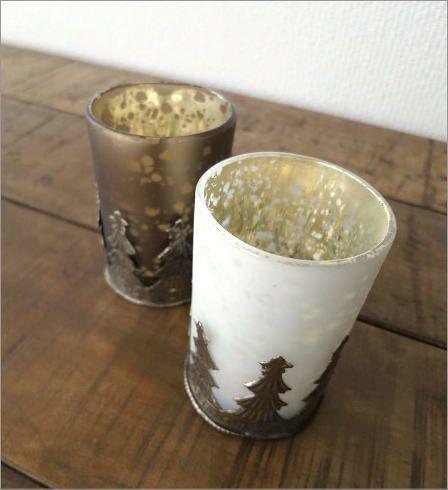 モミの木のキャンドルカップ 2タイプ(3)