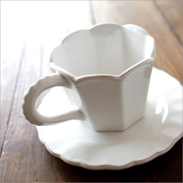 アンティークなカップ&ソーサー ジャルダンA(1)