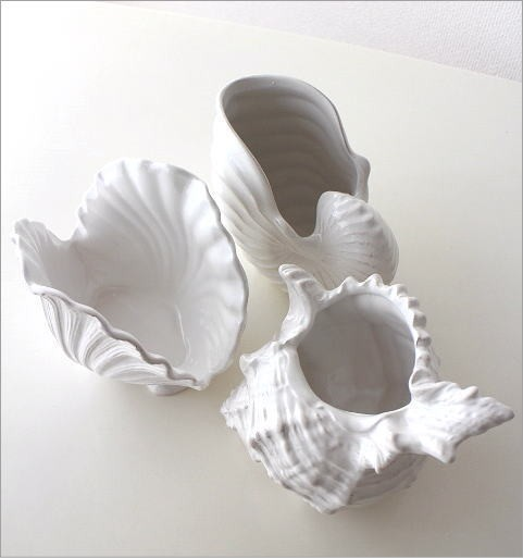 陶器のシェルベース 3タイプ(2)
