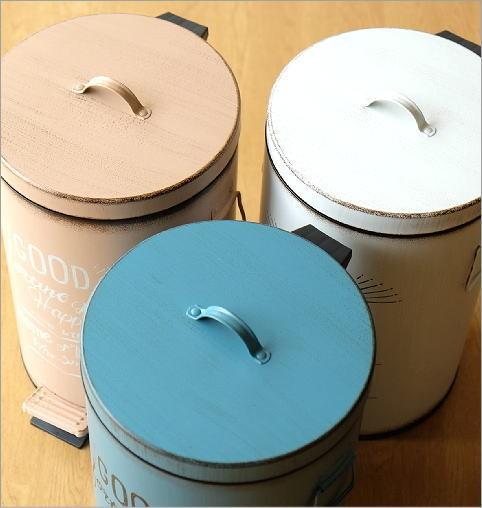 シャビー風ペダルビン 3カラー(2)