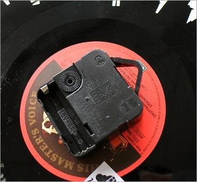 レコード盤の掛け時計 3タイプ(3)