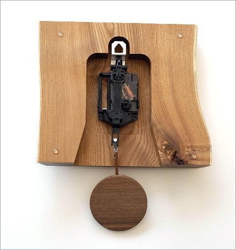 木の振り子時計 エンジュ(4)