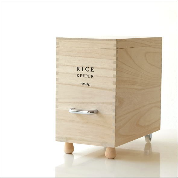 桐の米びつ L(5)
