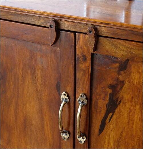 シーシャムウッド扉付きサイドボード(6)