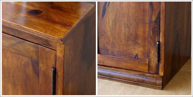 シーシャムウッド扉付きサイドボード(7)