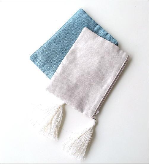 ビーズ刺繍ポーチS 2カラー(2)