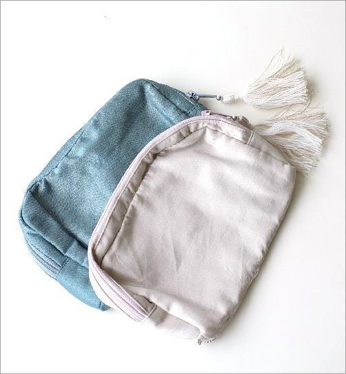 ビーズ刺繍ポーチM 2カラー(2)
