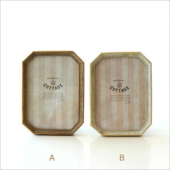 クラシックなフォトフレーム 八角2カラー(4)