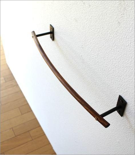 ウッドバーのタオルハンガー A(2)