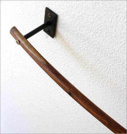 ウッドバーのタオルハンガー A(3)