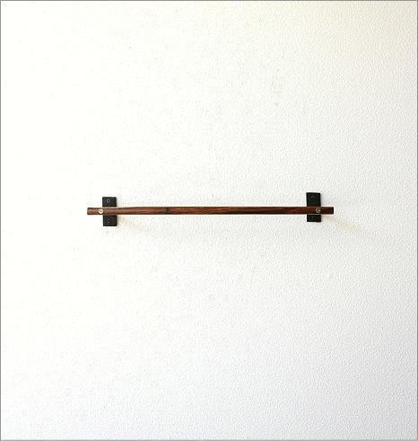 ウッドバーのタオルハンガー A(4)