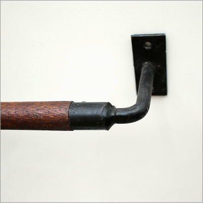 ウッドバーのタオルハンガー C(2)