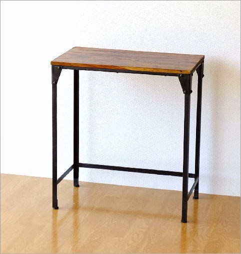 シーシャムとアイアンのネストテーブル L(4)
