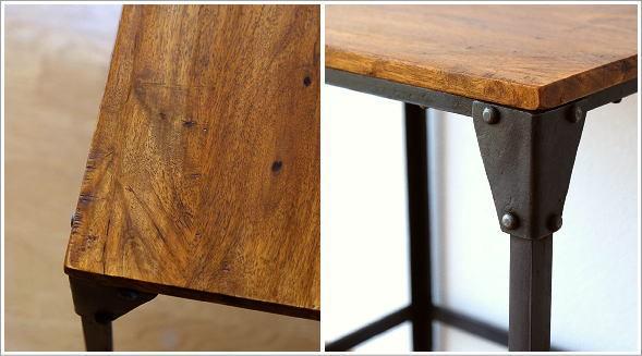 シーシャムとアイアンのネストテーブル S(3)