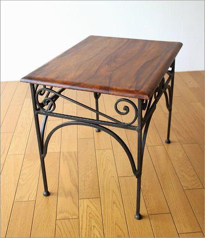 アイアンとシーシャムのネストテーブル L(4)