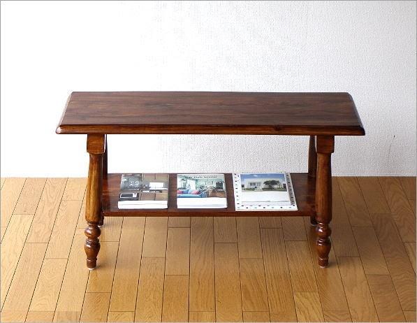 シーシャム棚付きベンチ(5)