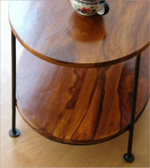シーシャムウッドオーバルテーブル(2)