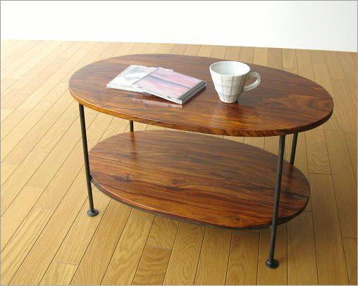 シーシャムウッドオーバルテーブル(5)