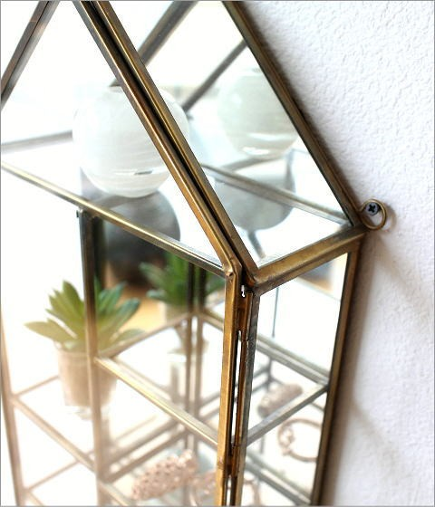 ガラスのハウスショーケース(2)