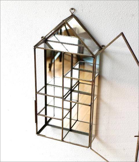 ガラスのハウスショーケース(3)