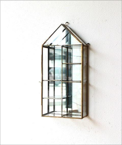 ガラスのハウスショーケース(4)