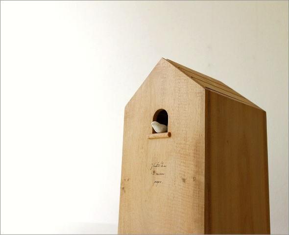 ウッドバードハウスのゴミ箱(1)