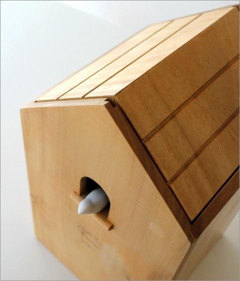 ウッドバードハウスのゴミ箱(2)