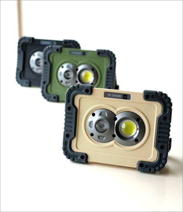ポータブルLEDワークライト3カラー(1)