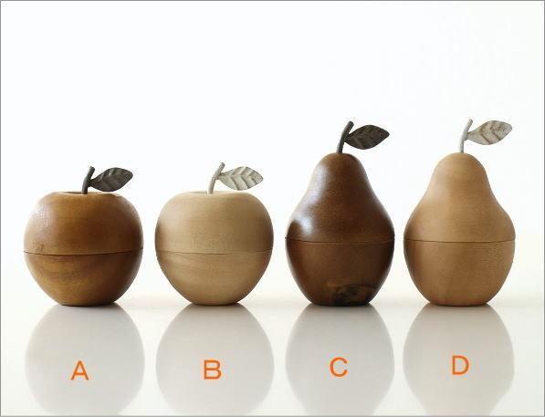 ウッドフルーツ小物入れ4タイプ(3)